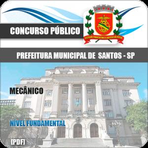Capa Santos SP 2020 Mecânico