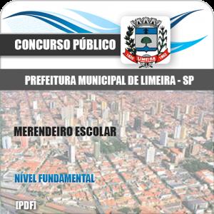 Apostila Concurso Pref Limeira SP 2020 Merendeiro Escolar