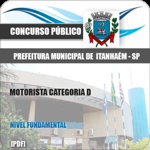 Apostila Concurso Pref Itanhaém SP 2020 Motorista Cat D