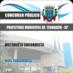 Apostila Concurso Itanhaém SP 2020 Motorista Socorrista