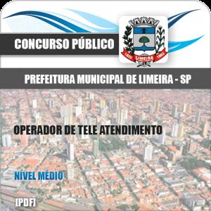 Apostila Limeira SP 2020 Operador de Tele Atendimento