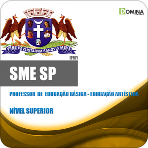 Capa SME Professor de Educação Artística