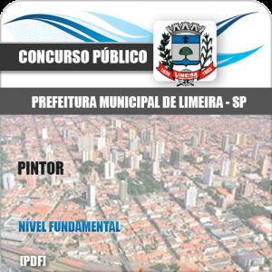 Apostila Concurso Limeira SP 2020 Oficial de Manutenção Pintor