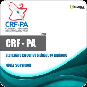 Capa CRF PA 2020 Secretário Executivo Bilíngue ou Trilíngue