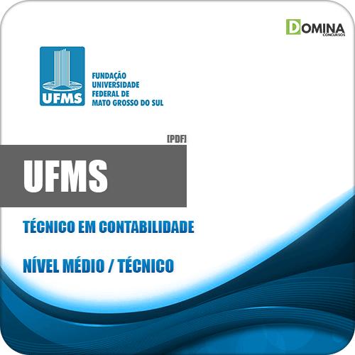 Apostila Concurso UFMS 2020 Técnico em Contabilidade