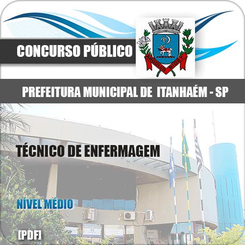 Capa SMS Recife PE 2020 Técnico de Enfermagem