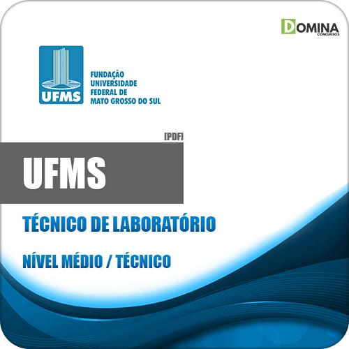 Capa UFMS 2020 Técnico de Laboratório