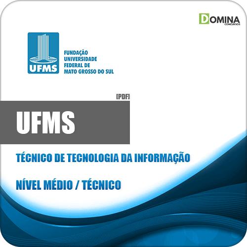 Apostila UFMS 2020 Técnico de Tecnologia da Informação