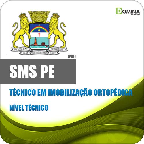 Capa SMS Recife PE 2020 Técnico Imobilização Ortopédica