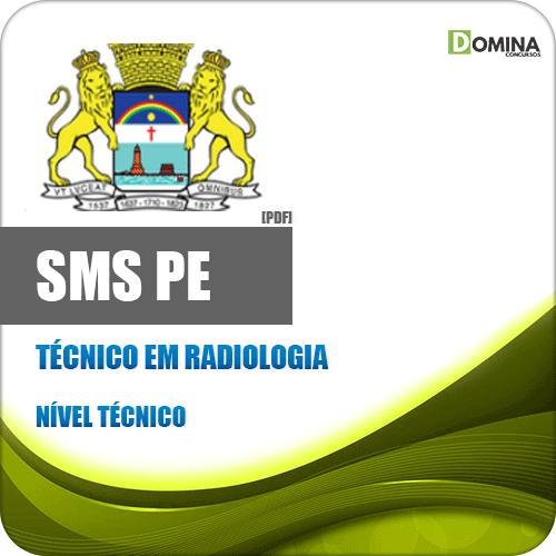 Capa SMS Recife PE 2020 Técnico em Radiologia Plantonista
