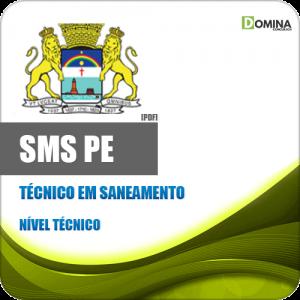 Apostila Concurso SMS Recife PE 2020 Técnico em Saneamento