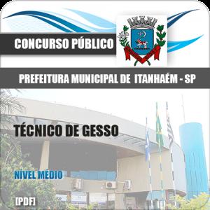 Apostila Concurso Itanhaém SP 2020 Técnico de Gesso