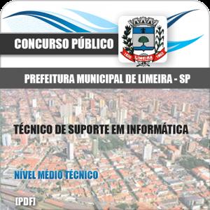 Apostila Limeira SP 2020 Técnico de Suporte em Informática