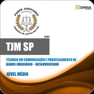 Capa TJM SP 2020 Técnico Judiciário Desenvolvedor