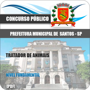 Capa Santos SP 2020 Tratador de Animais