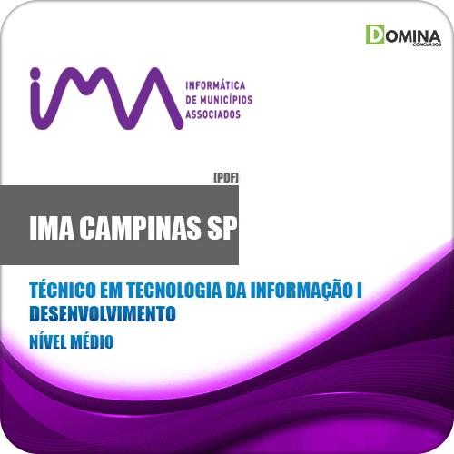 Apostila IMA Comapinas SP 2020 Tec Informação I Desenvolvimento