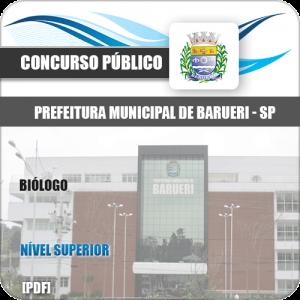 Apostila Concurso Pref Barueri SP 2020 Biólogo