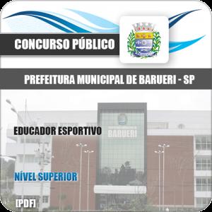 Apostila Concurso Pref Barueri SP 2020 Educador Esportivo