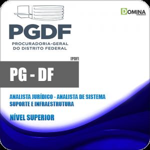 Apostila PG DF 2020 Analista Suporte e Infraestrutura