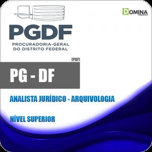 Capa PG DF 2020 Analista Jurídico Arquivologia