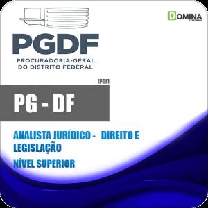 Apostila PG DF 2020 Analista Jurídico Direito e Legislação