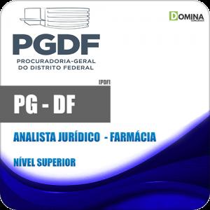 Apostila Concurso PG DF 2020 Analista Jurídico Farmácia