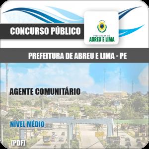 Apostila Abreu de Lima PE 2020 Agente Comunitário de Saúde