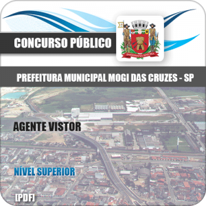 Apostila Concurso Mogi das Cruzes SP 2020 Agente Vistor