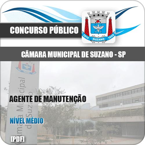 Apostila Câmara Suzano SP 2020 Agente de Manutenção