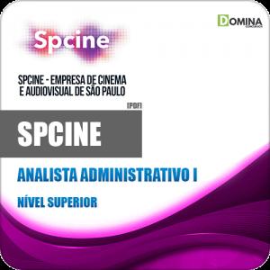 Apostila Concurso Público SPCine 2020 Analista Administrativo I