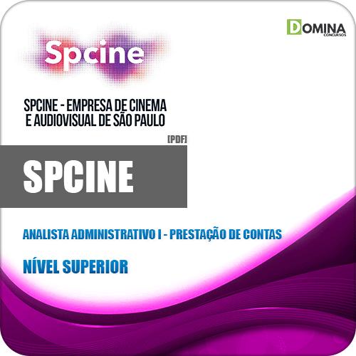 Apostila SPCine 2020 Analista Administrativo I Prestação de Contas