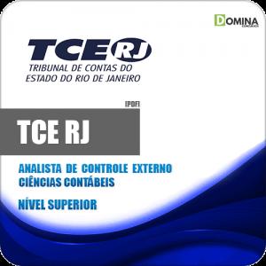 Apostila Concurso TCE RJ 2020 Analista Ciências Contábeis