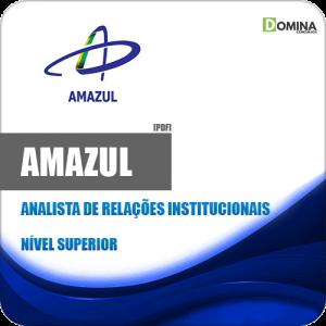 Apostila Amazul 2020 Analista de Ralações Institucionais