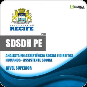 Apostila Concurso SDSDH Recife PE 2020 Assistente Social