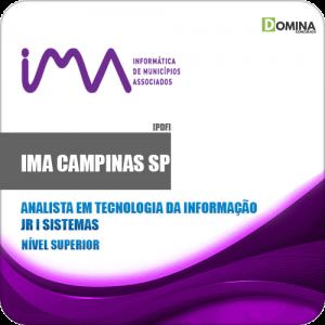 Apostila IMA Comapinas SP 2020 Analista Informação Jr I Sistemas
