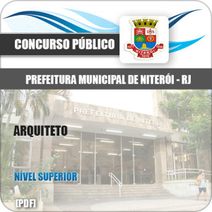Apostila Concurso Público Pref Niterói RJ 2020 Arquiteto