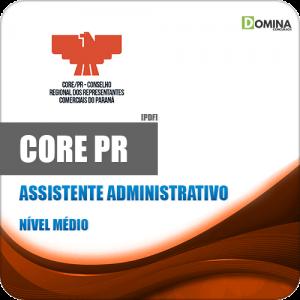 Apostila Concurso CORE PR 2020 Assistente Administrativo