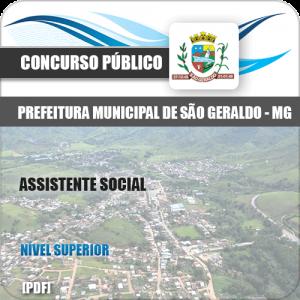 Apostila Concurso Pref São Geraldo MG 2020 Assistente Social