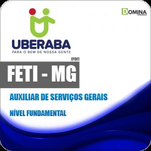 Apostila Concurso FETI 2020 Auxiliar de Serviços Gerais