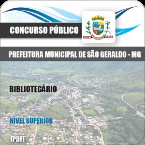 Apostila Concurso Pref São Geraldo MG 2020 Bibliotecário