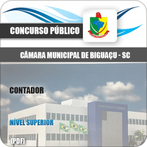 Apostila Concurso Câmara Biguaçu SC 2020 Contador