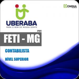Apostila Concurso FETI Uberaba MG 2020 Contabilista