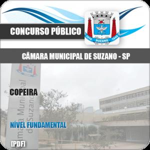 Apostila Concurso Câmara Suzano SP 2020 Copeira