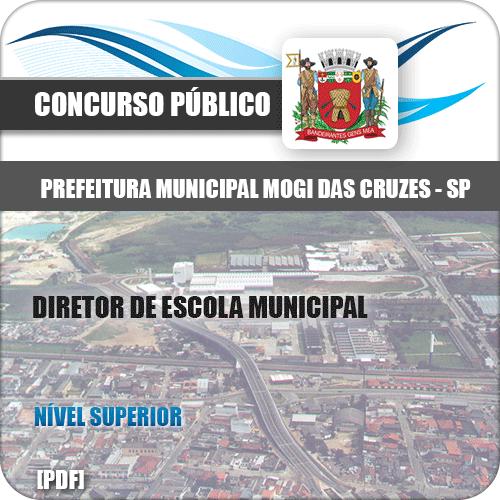 Capa Mogi das Cruzes SP 2020 Diretor de Escola Municipal