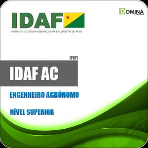 Apostila Concurso IDAF AC 2020 Engenheiro Agrônomo