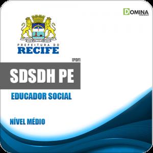 Apostila Concurso SDSDH Recife PE 2020 Educador Social