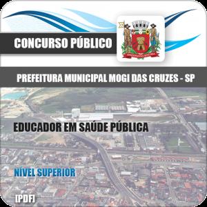 Apostila Mogi das Cruzes SP 2020 Educador em Saúde Pública