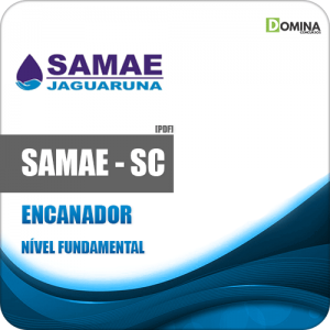 postila Concurso Samae Jaguaruna SC 2020 Encanador