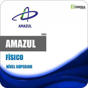 Apostila Concurso Amazul 2020 Físico Novo Edital Idecan