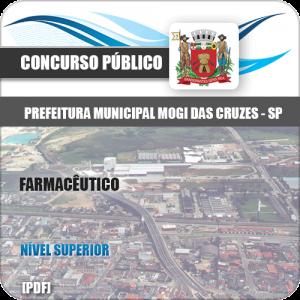 Apostila Concurso Mogi das Cruzes SP 2020 Farmacêutico